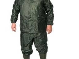 Костюм пвх- нейлон куртка брюки (зеленый)