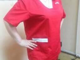 Летний костюм для скорой помощи, сорочка и брюки для медиков