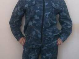 Костюм охранника: куртка, брюки, кепка, ткань грета Город.
