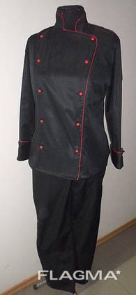 Костюм повара, поварская форма, одежда поварская оптом