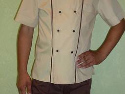 Костюм повара состоит из кителя и брюк