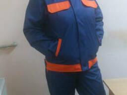 Костюм рабочий д/с:полукомбинезон и куртка, мужской
