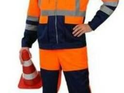 Костюм рабочий для Автосервиса, СТО, дорожных служб