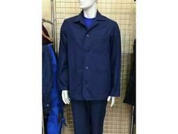 Костюм рабочий х/б модель с брюками ткань-диагональ