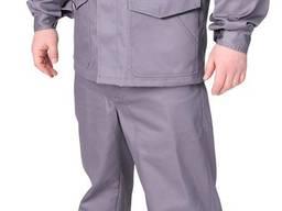 Костюм рабочий Инженер (серый с черным)