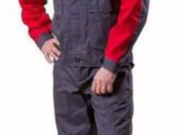Костюм рабочий из светоотражающей полосой, сигнальный костюм