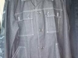 Костюм рабочий джинсовый, куртка и брюки