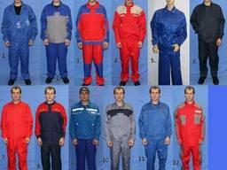 Костюм рабочий куртка, брюки, п/к, мужские, женские