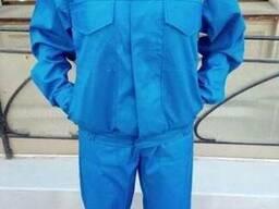 Костюм рабочий, куртка с полукомбинезоном