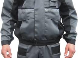 Костюм Рабочий Лидер, куртка с полукомбинизоном