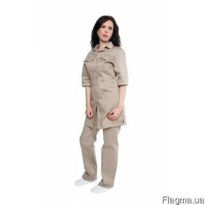 Костюм модельный женский для горничных, уборщиц, санитарок