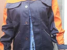 Рабочий костюм для слесарей демисезонный