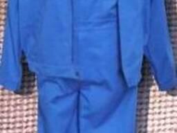 Костюм рабочий, полукомбинезон и куртка