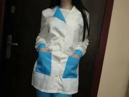 Костюм женский медицинский Элиза, пошив под заказ