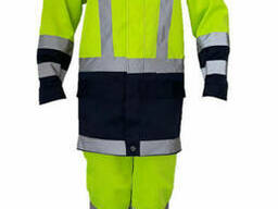 Костюм рабочий сигнальный, костюм для дорожника