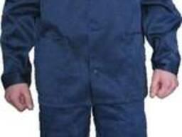 Костюм рабочий, спецодежда, куртка с брюками