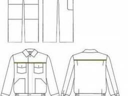 """Костюм рабочий ' Стандарт""""', цвет зеленый куртка и брюки"""