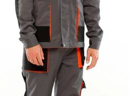 Костюм рабочий тритон - полукомбинезон и куртка
