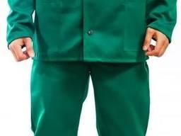 Костюм рабочий зеленый