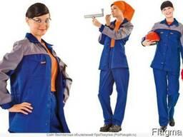 Костюм рабочий женский для комфортной работы, куртка, брюки