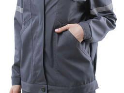 Костюм рабочий женский с красной кокеткой - фото 3