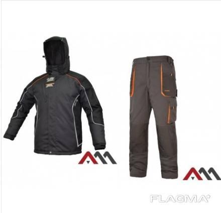 Костюм рабочий зимний ARTMAS CLASSIC WIN LONGKS. Материал покрытия:65% полиэстер, 35% хлоп
