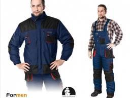 Костюм рабочий зимний LEBER & HOLLMAN LH FMNW B J GBC.65% полиэфир, 35% хлопок.