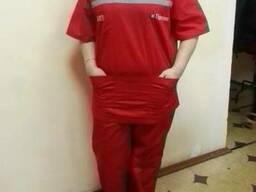 Летний костюм для работников скорой помощи