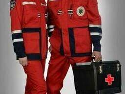 Костюм скорой помощи, костюм неотложки