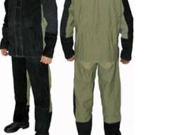 Костюм сварщика брезент спилок огнестойкий, брюки с курткой