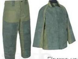 Костюм сварщика комбинированный, рабочая одежда, спецодежда.