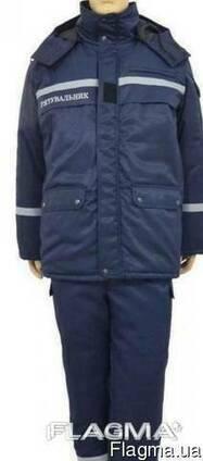 Костюм утеплений МЧС, костюм зимовий Рятувальник