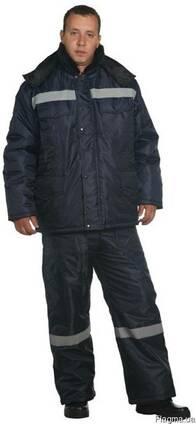 Костюм утепленный рабочий, мужской. женский, куртка и п/к