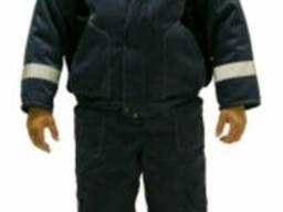 Костюм утепленный рабочий с СОП, костюм зимний для рабочих