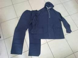 Костюм влагозащитный синий рабочий защитный костюм