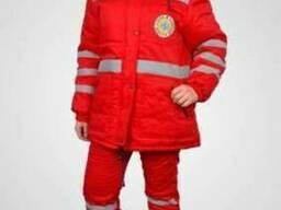 Костюм зимний женский для скорой помощи, одежда фельдшера