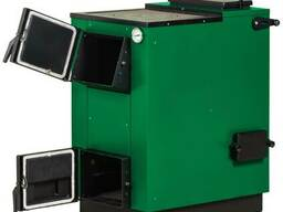 Твердотопливный котел Макситерм 22 кВт с плитой и электротен
