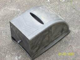 Кожух защитный короб двигателя бетономешалки