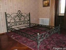 Кованая кровать под заказ