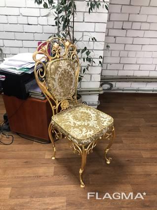 Кованая мебель кровати стулья лавки качели декор ПДК Бастион