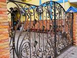 Ковані ворота, дашки, автонавіси. Металеві вироби на замовлення Буча, Ірпінь, Озера - фото 7