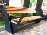 Кованая мебель кровати стулья лавки качели декор ПДК Бастион - фото 5