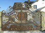 Кованные и вырезанные плазмой ворота и калитки - фото 3