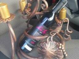 Кованные изделия (подставка для вина)