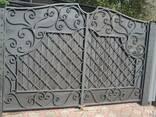 Кованные ворота - фото 3