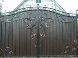 Кованные ворота и калитки на заказ, любой сложности.