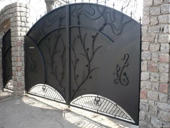 Кованные ворота и заборы