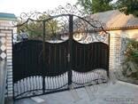 Кованные ворота и заборы - фото 2