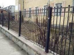 Ковано-сварной забор