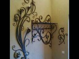 Кованый декор для Вашего дома. Кованая мебель, столы Буча